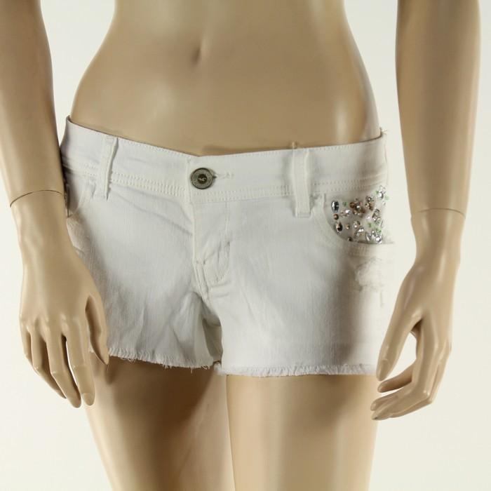 Hollister - Spodenki jeansowe