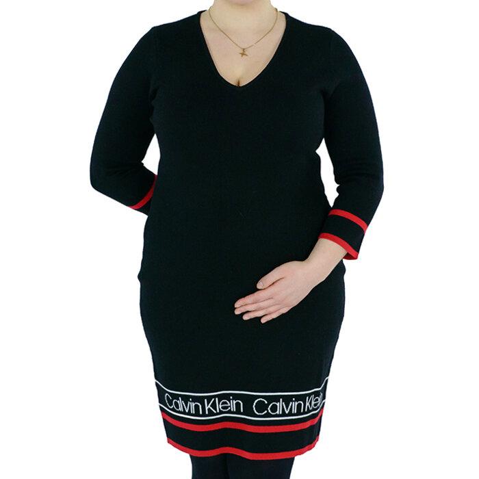 Calvin Klein - Sukienka sweterkowa