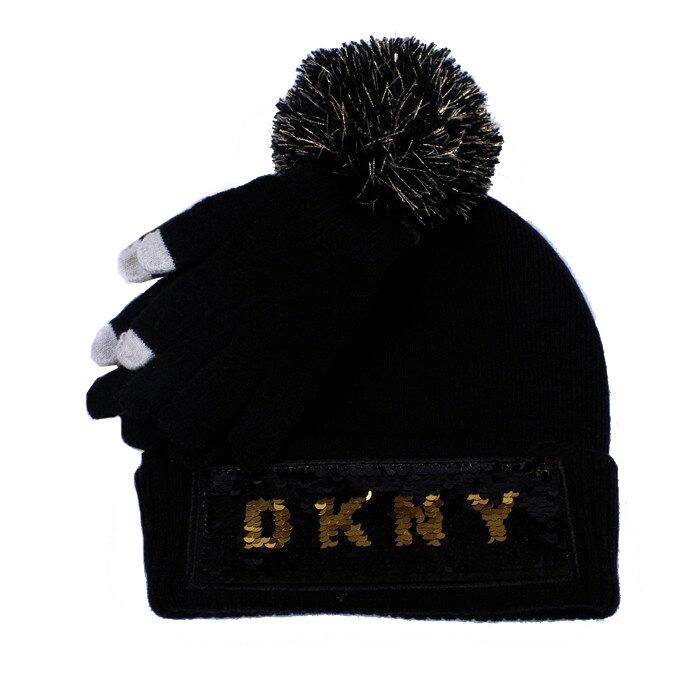 DKNY - Czapka i rękawiczki