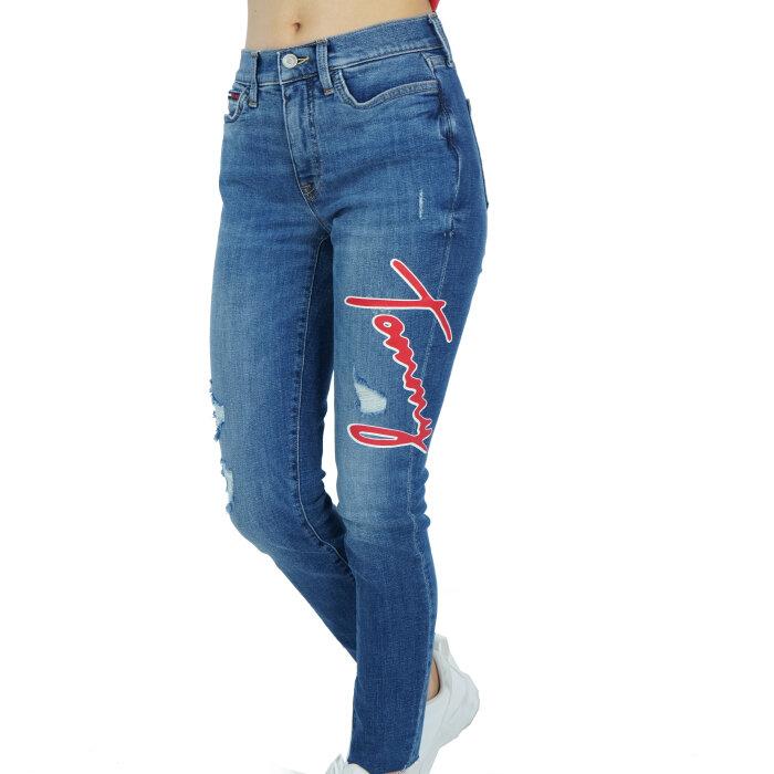 Tommy Hilfiger - Spodnie - High rise curve legging