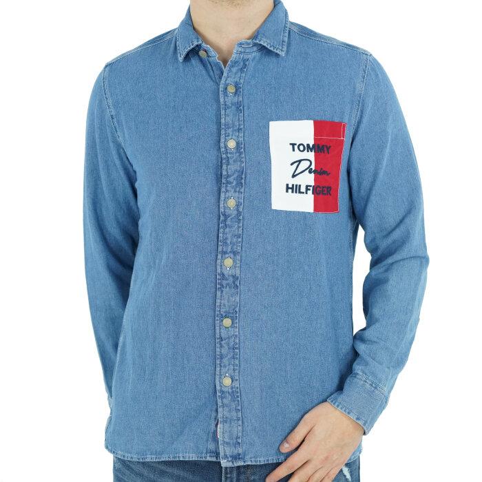 Tommy Hilfiger - Koszula jeansowa