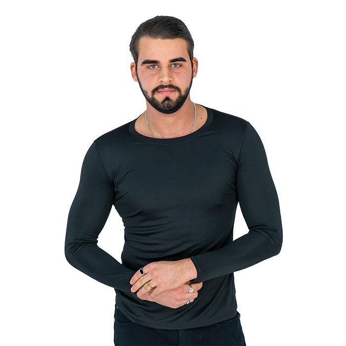 Hanes - T-Shirt mit langen Ärmeln