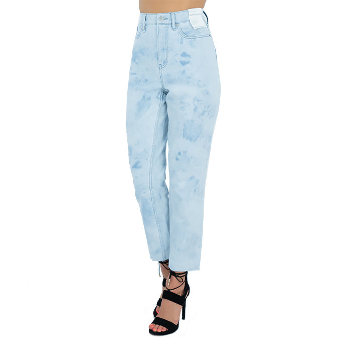 Calvin Klein - Kalhoty - HIGH RISE STRAIGHT
