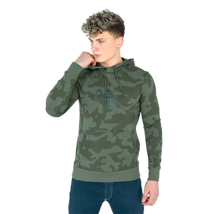 Calvin Klein - Isoliertes Sweatshirt mit Kapuze