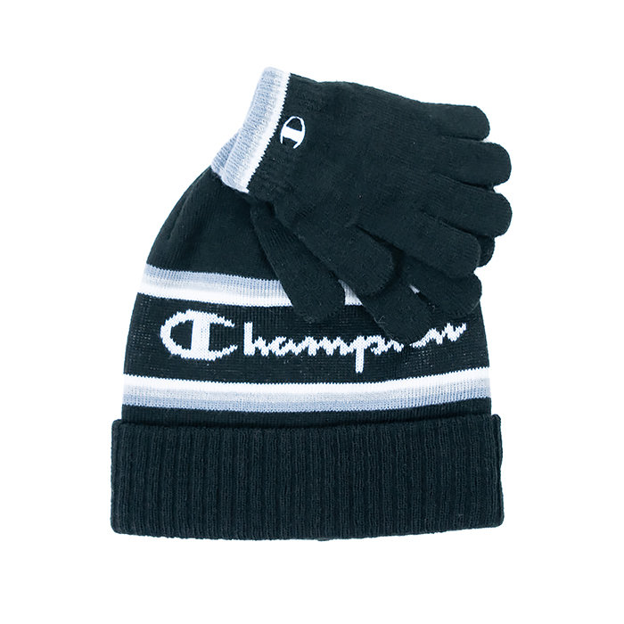 Champion - Czapka i rękawiczki