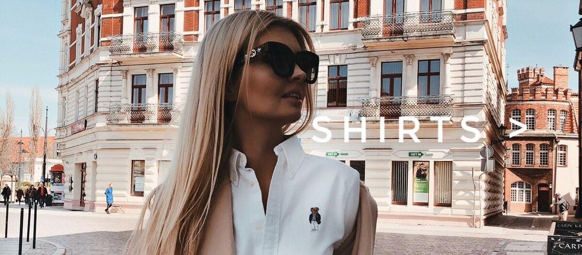ubrania markowe dla kobiety koszule damskie